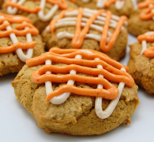 Two Ingredient Moist Pumpkin Cookies