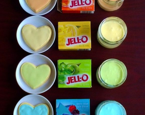 Jello makes Cookie Colors and Flavors