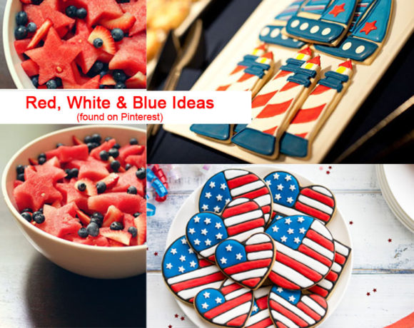 Red, White & Blue Sweets