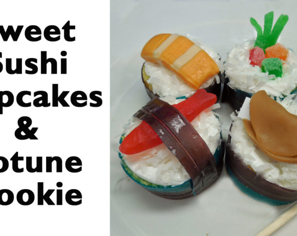 Sweet Sushi Cupcakes YOU can Make