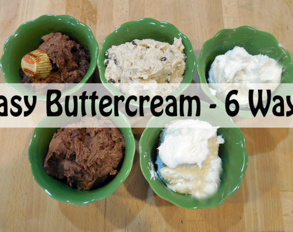 Jill's BASIC Buttercream Frosting with Six Flavor Add-On's