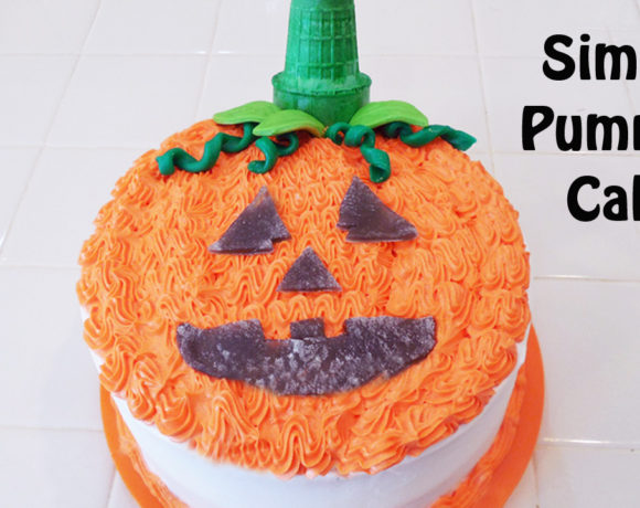 Cute and Easy Pumpkin Cake