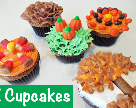 Simple FALL Cupcakes