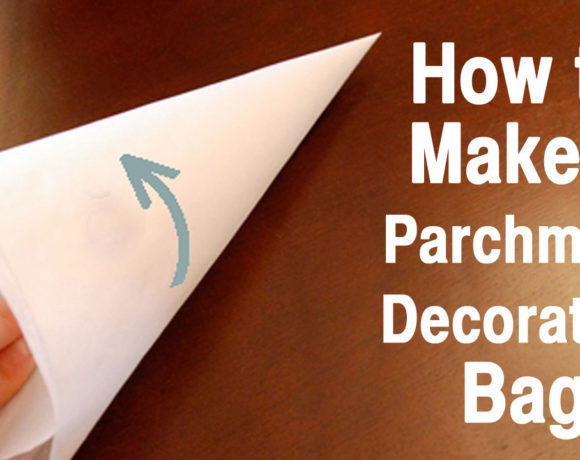 How to Make a Parchment Decorating Bag