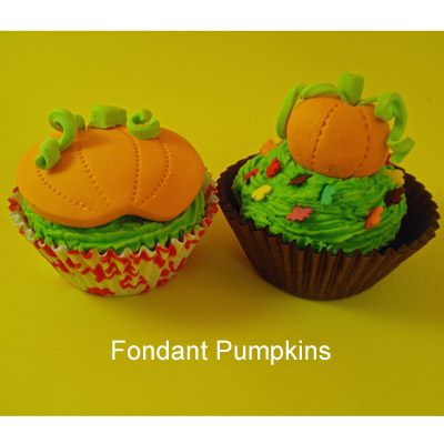 Pumpkin Patch Cupcakes for Halloween