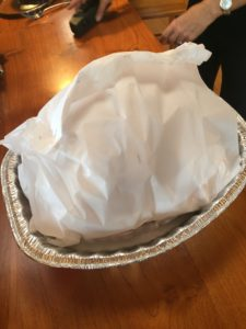 Moist Turkey using Parchment Paper Wrap