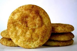 3 Ingredient Snickerdoodle Cookies
