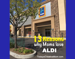 13 Reasons Why this Mom Loves Aldi stores