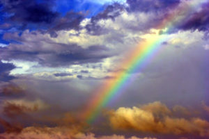 After the Storm comes your rainbow