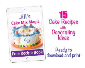 Free Cake Mix Magic Recipe Book