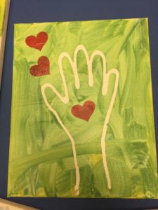 Handprint Father's Day Gift