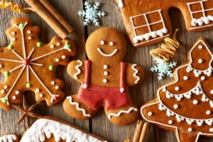 Gingerbread Cookies for Decorating