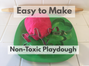 How to Make Non-toxic Playdoh