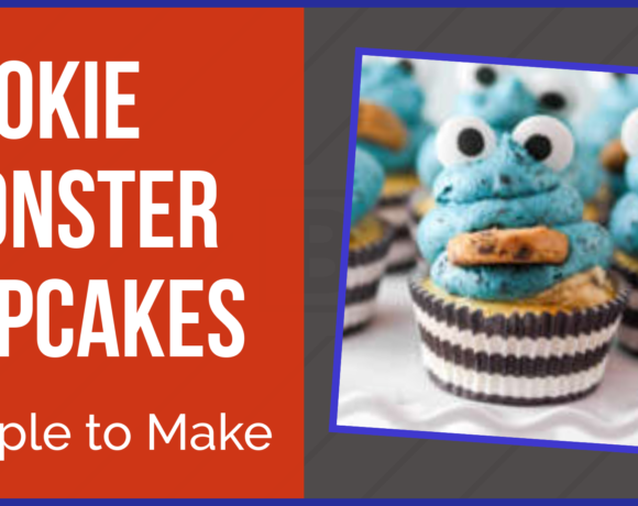 Simple Cookie Monster Cupcakes to Make with Kids