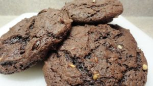 Chewy Chocolate Chip Fudge Cookies