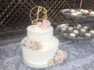 DIY Easy to Make Wedding Cake