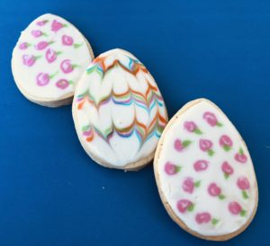 Decorate Easter Egg Sugar Cookies