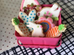 Decorate Easter Bunny Sugar Cookies