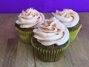 Yummy Carrot Cake Cupcakes