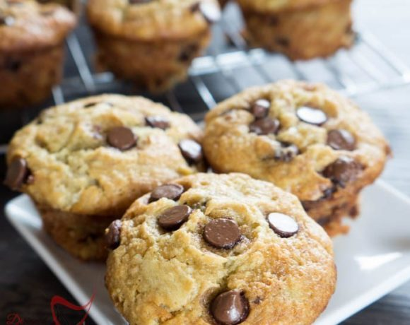 Chocolate Chip Banana Muffins/Cupcakes
