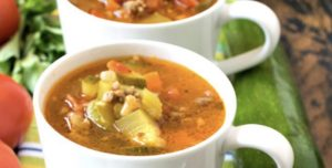 Crazy Good Veggie Soup with Kids